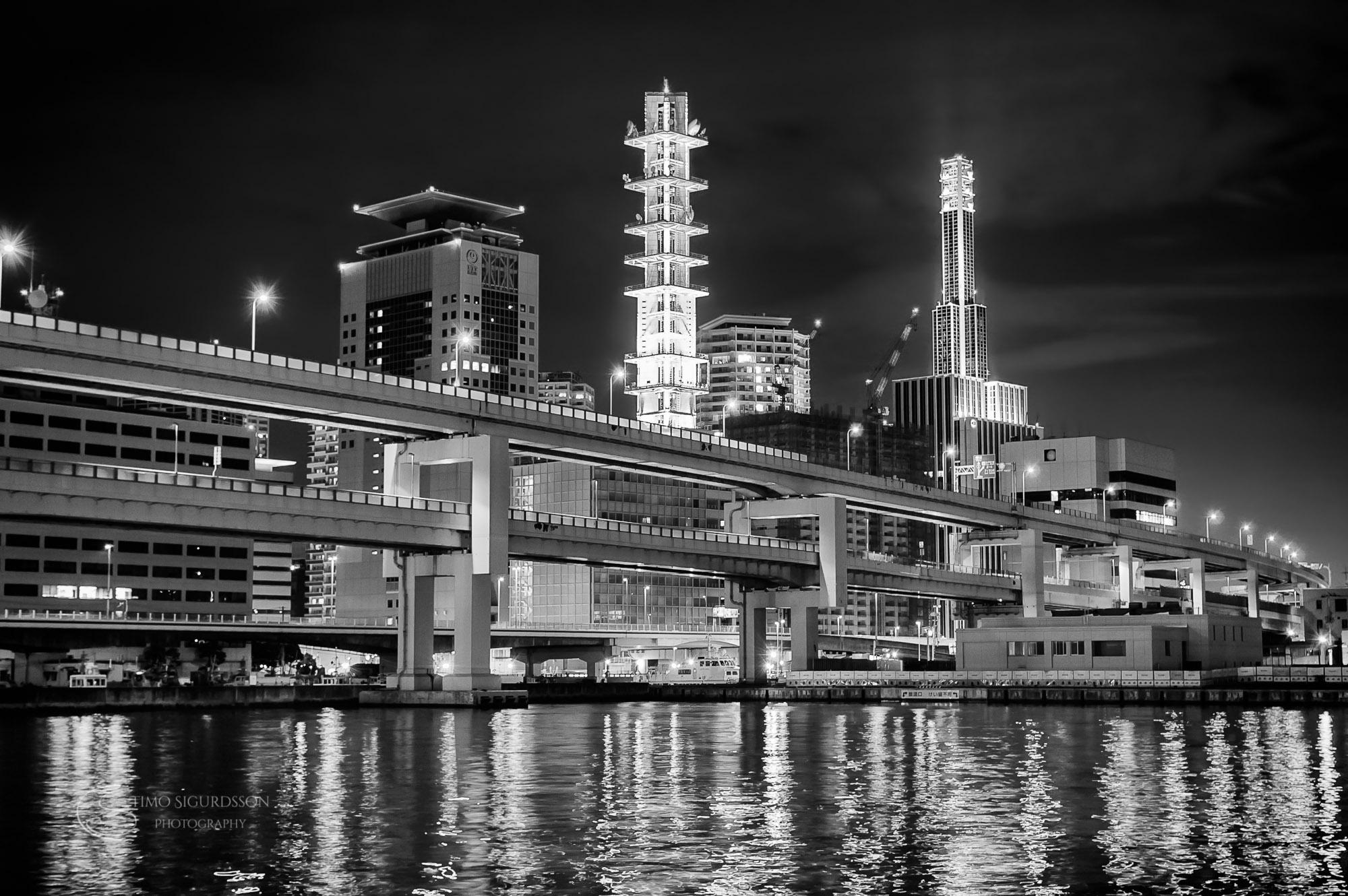 Kobe, Japan. Port area.