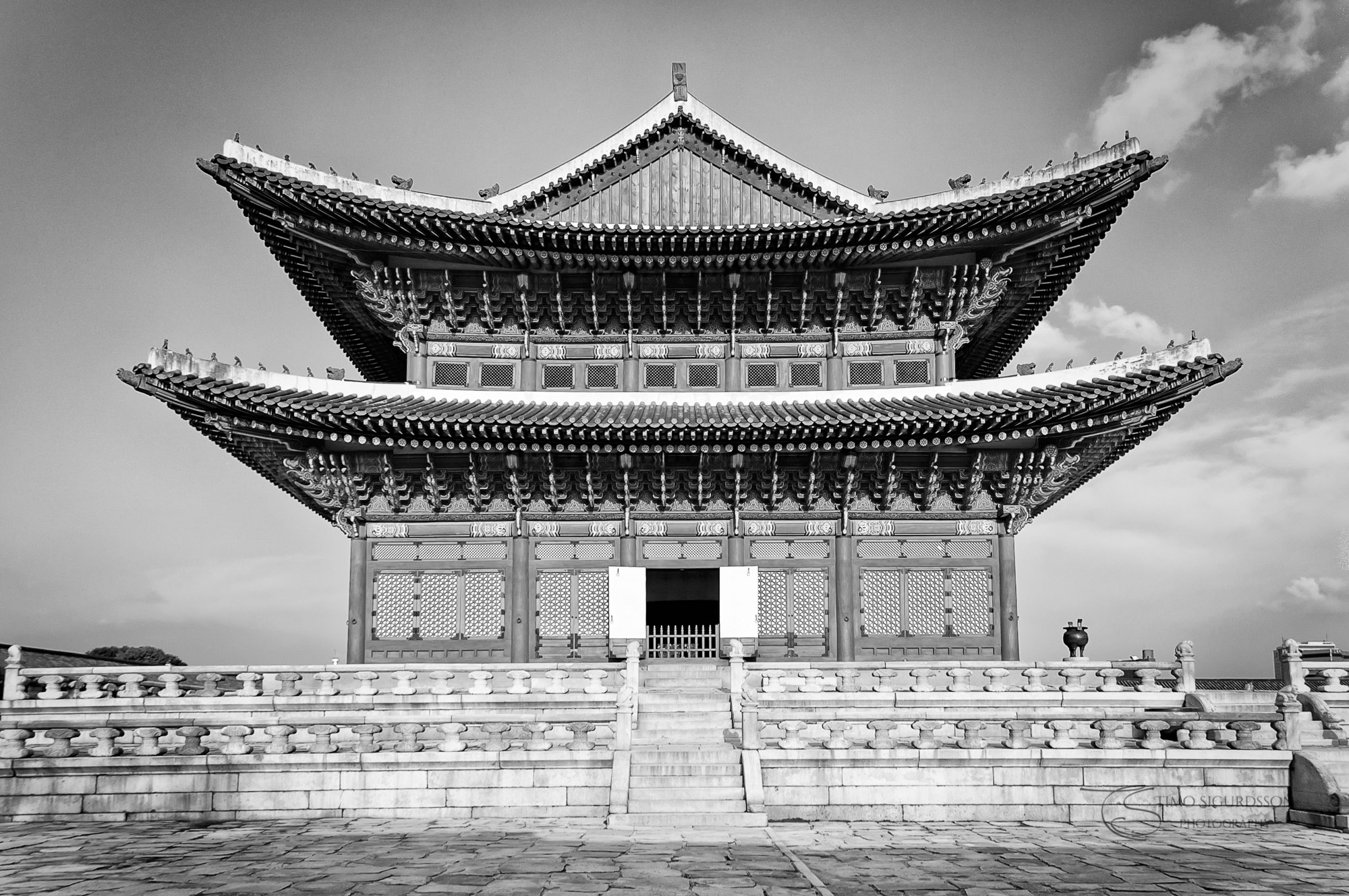Gyeongbokgung Palace, Seoul, South Korea.