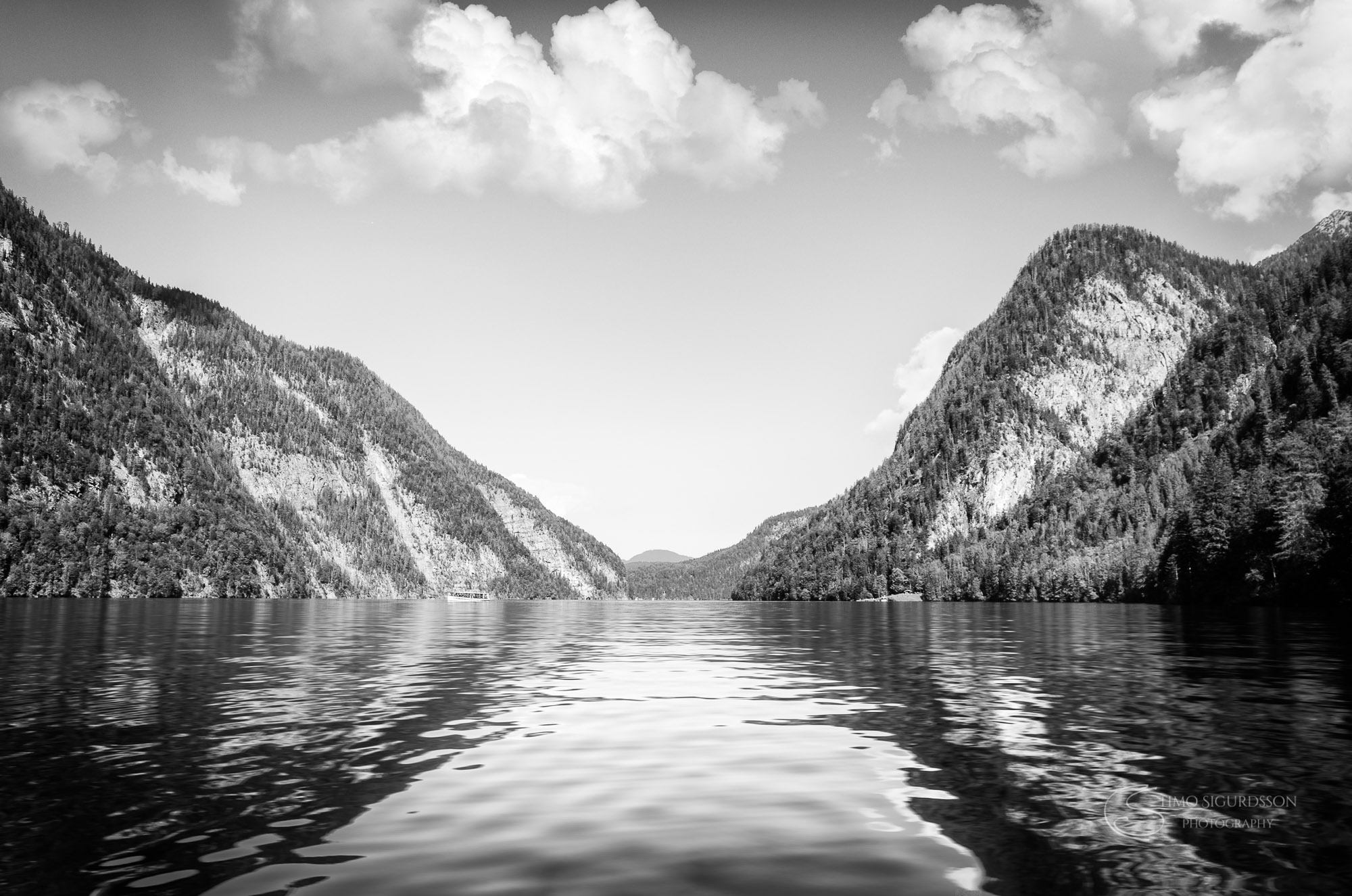 Königssee, Germany. King's lake.