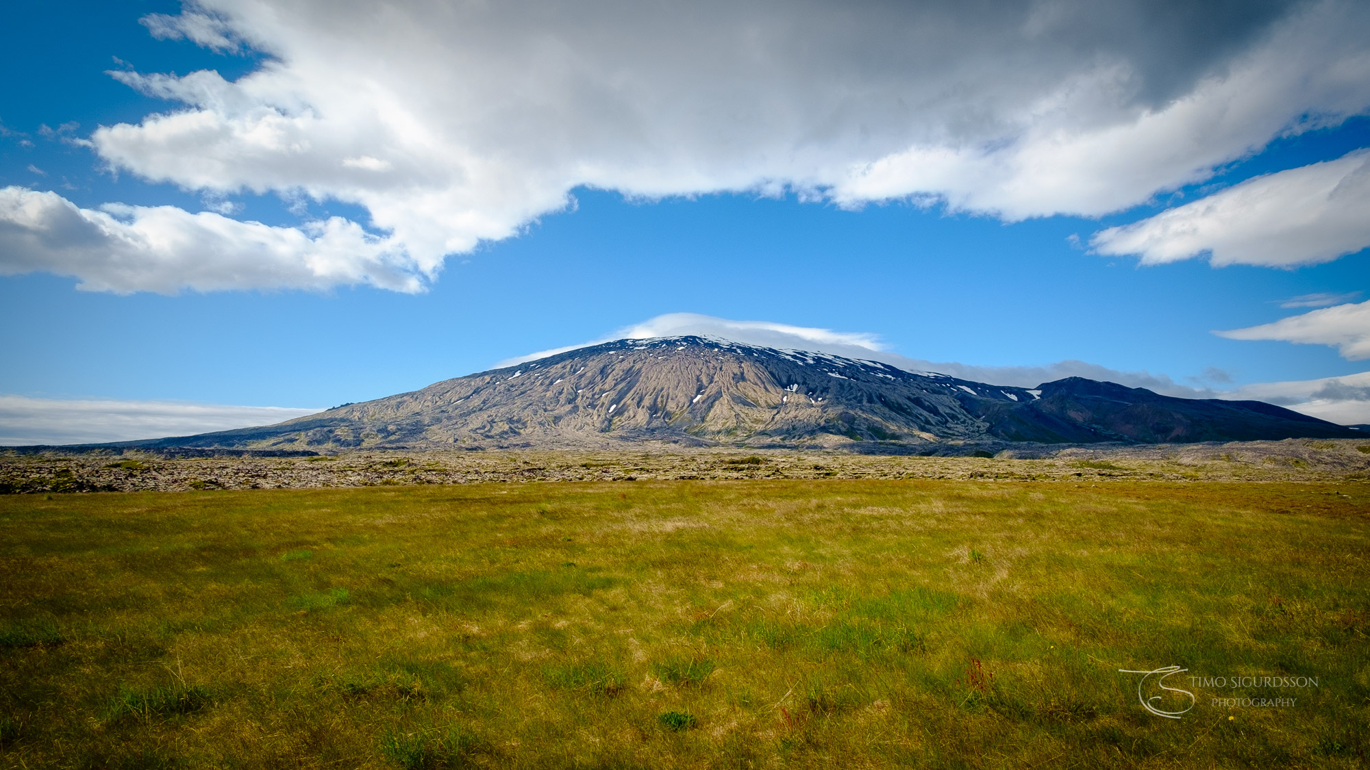 Snæfellsjökull, Iceland. Glacier mountain. Snæfellsnes peninsula.
